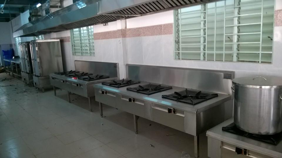 Hệ thống bếp nấu công nghiệp