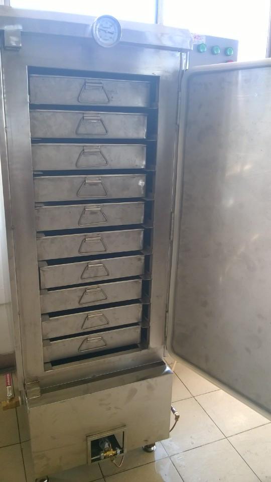 Tủ cơm 50 kg sử dụng điện & gas