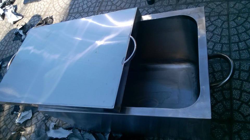 Thùng giữ nóng cơm canh 2 lớp inox